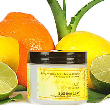 Citrus Fresh Alpha Hydroxy Acid Facial Creme